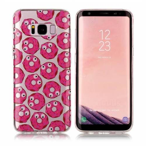 Eye Donuts Super Clear Soft TPU Back Cover for Samsung Galaxy S8 Plus S8+
