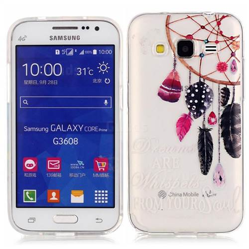 low priced b115d 8ddef Dreamcatcher High Transparent Soft TPU Back Cover for Samsung Galaxy Core  Prime G360