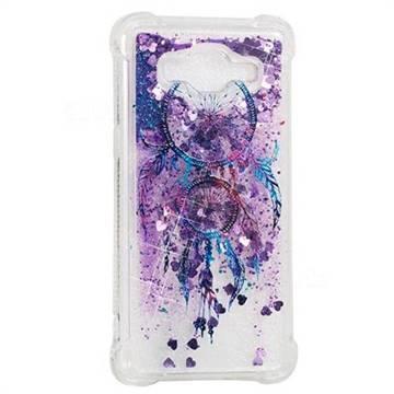 Retro Wind Chimes Dynamic Liquid Glitter Sand Quicksand Star TPU Case for Samsung Galaxy Grand Prime G530