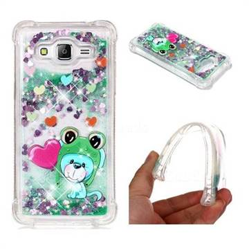 Heart Frog Lion Dynamic Liquid Glitter Sand Quicksand Star TPU Case for Samsung Galaxy Grand Prime G530