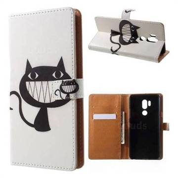 Proud Cat Leather Wallet Case for LG G7 ThinQ