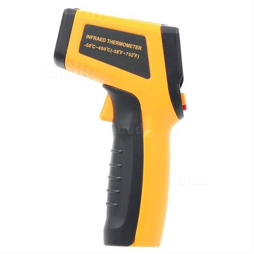 Infrared Thermometer, Range (-50 ~ 400 ?C / -58 ~ 752 ?F)