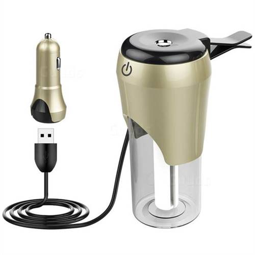 BC20 Car Humidifier with Car Charger - Champagne Gold