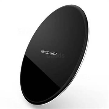 R-JUST Ultra-Thin Fast Charge Qi Wireless Charging Pad Black