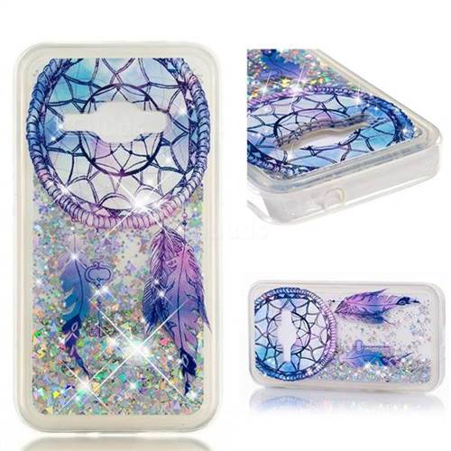 Dynamic Liquid Glitter Quicksand Soft TPU Case for Samsung Galaxy J1 2016 J120 - Fantasy Wind Chimes