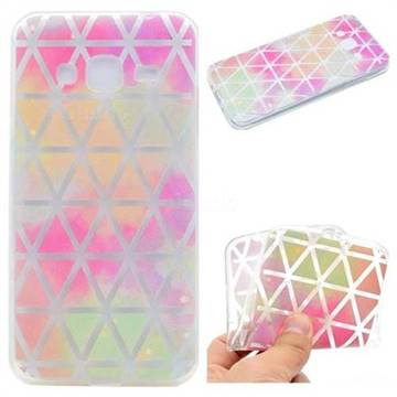 Rainbow Triangle Super Clear Soft TPU Back Cover for Samsung Galaxy J2 Prime G532