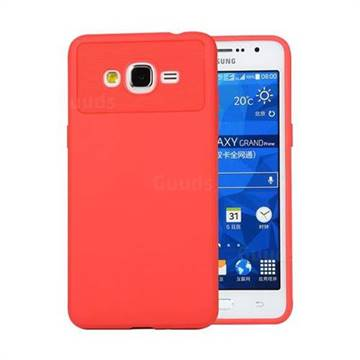 Carapace Soft Back Phone Cover for Samsung Galaxy J2 Prime G532 - Red