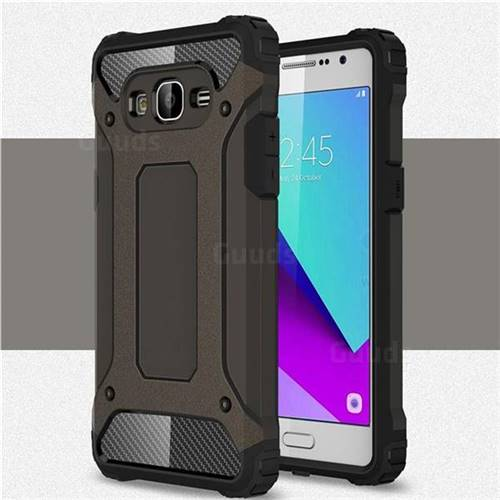 King Kong Armor Premium Shockproof Dual Layer Rugged Hard Cover for Samsung Galaxy J2 Prime G532 - Bronze
