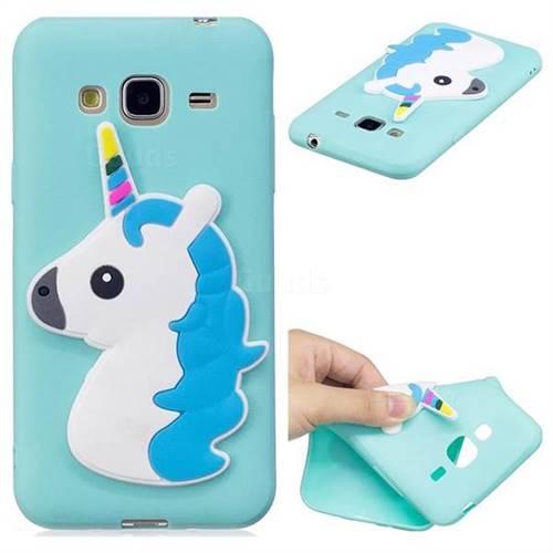 Unicorn Soft 3D Silicone Case for Samsung Galaxy J3 2016 J320