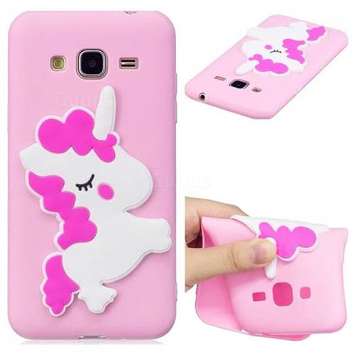 Pony Soft 3D Silicone Case for Samsung Galaxy J3 2016 J320