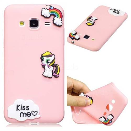 Kiss me Pony Soft 3D Silicone Case for Samsung Galaxy J3 2016 J320