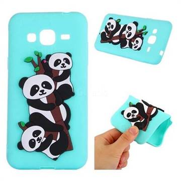 cover samsung j3 2016 silicone 3d panda