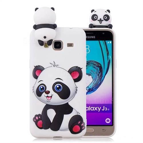 hot sale online 30e77 b29cf Panda Girl Soft 3D Climbing Doll Soft Case for Samsung Galaxy J3 2016 J320