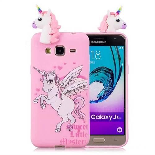 cover samsung galaxy j3 6 unicorno