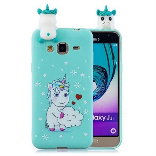cover samsung galaxy j3 2016 unicorno