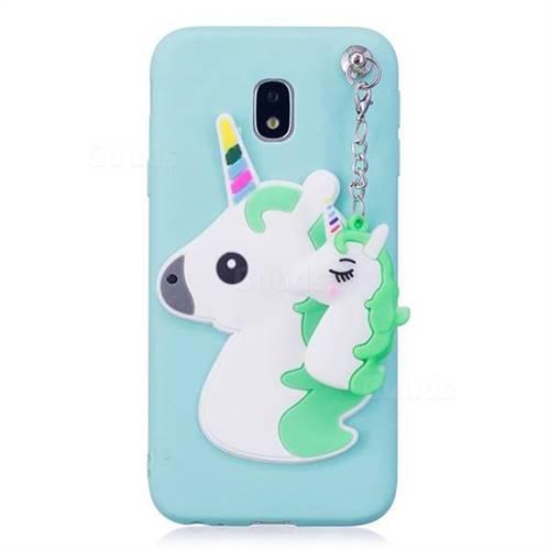 cover samsung j3 2017 unicorno 3d
