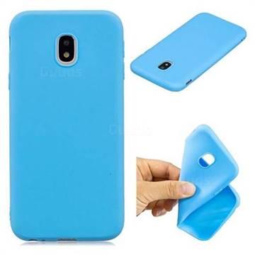 Candy TPU Soft Back Phone Cover for Samsung Galaxy J3 2017 J330 Eurasian -  Baby Blue