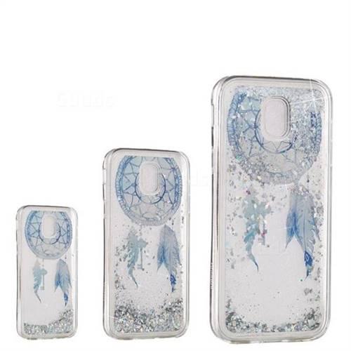 Fantasy Wind Chimes Dynamic Liquid Glitter Quicksand Soft TPU Case for Samsung Galaxy J3 2017 J330 Eurasian