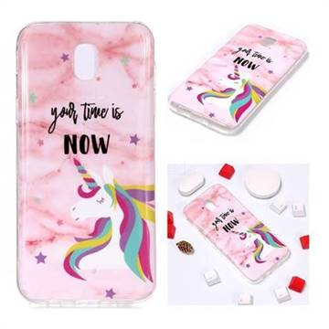 various colors d74fd 242ae Unicorn Soft TPU Marble Pattern Phone Case for Samsung Galaxy J3 2017 J330  Eurasian