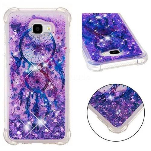 Retro Wind Chimes Dynamic Liquid Glitter Sand Quicksand Star TPU Case for Samsung Galaxy J4 Plus(6.0 inch)