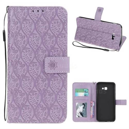 samsung j4 plus case purple