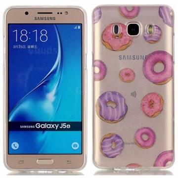 f0b38160a5b Donuts Super Clear Soft TPU Back Cover for Samsung Galaxy J5 2016 J510