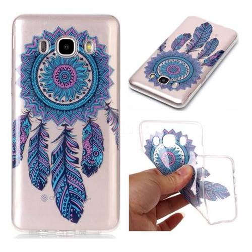 Blue Wind Chimes Super Clear Soft TPU Back Cover for Samsung Galaxy J5 2016 J510