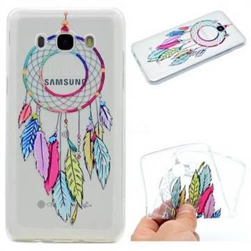 Rainbow Campanula Super Clear Soft TPU Back Cover for Samsung Galaxy J5 2016 J510