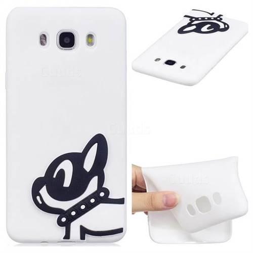 Cute Dog Soft 3D Silicone Case for Samsung Galaxy J5 2016 J510