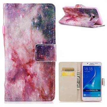 Cosmic Stars PU Leather Wallet Case for Samsung Galaxy J5 2016 J510