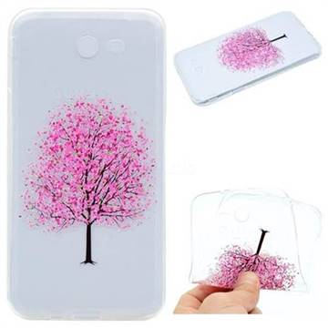 Petals Tree Super Clear Soft TPU Back Cover for Samsung Galaxy J5 2017 US Edition