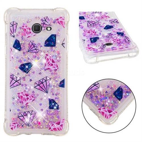 Diamond Dynamic Liquid Glitter Sand Quicksand Star TPU Case for Samsung Galaxy J5 2017 US Edition