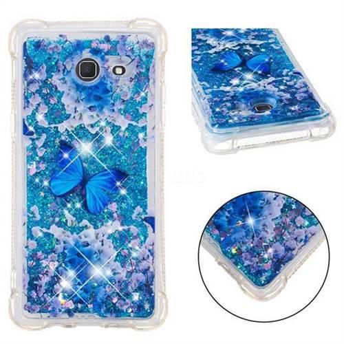 Flower Butterfly Dynamic Liquid Glitter Sand Quicksand Star TPU Case for Samsung Galaxy J5 2017 US Edition