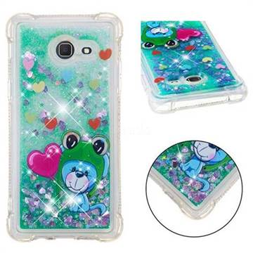 Heart Frog Lion Dynamic Liquid Glitter Sand Quicksand Star TPU Case for Samsung Galaxy J5 2017 US Edition