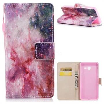 Cosmic Stars PU Leather Wallet Case for Samsung Galaxy J5 2017 US Edition