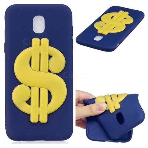 US Dollars Soft 3D Silicone Case for Samsung Galaxy J5 2017 J530 Eurasian