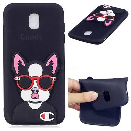 Glasses Gog Soft 3D Silicone Case for Samsung Galaxy J5 2017 J530 Eurasian
