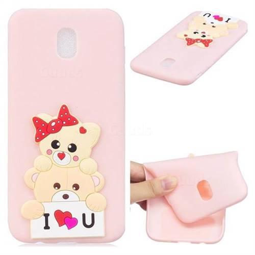 Love Bear Soft 3D Silicone Case for Samsung Galaxy J5 2017 J530 Eurasian
