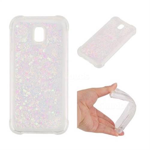 Dynamic Liquid Glitter Sand Quicksand Star TPU Case for Samsung Galaxy J5 2017 J530 Eurasian - Pink