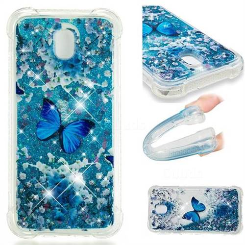 Flower Butterfly Dynamic Liquid Glitter Sand Quicksand Star TPU Case for Samsung Galaxy J5 2017 J530 Eurasian