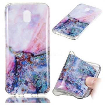 Purple Amber Soft TPU Marble Pattern Phone Case for Samsung Galaxy J5 2017 J530 Eurasian