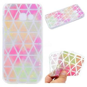 Rainbow Triangle Super Clear Soft TPU Back Cover for Samsung Galaxy J5 Prime