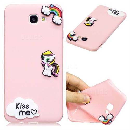 Kiss me Pony Soft 3D Silicone Case for Samsung Galaxy J5 Prime