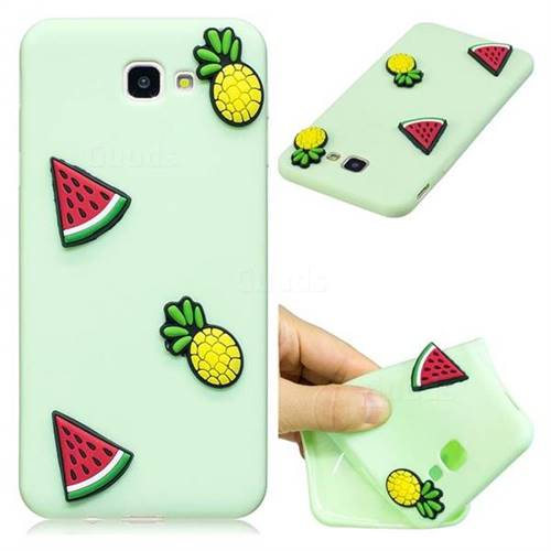 Watermelon Pineapple Soft 3D Silicone Case for Samsung Galaxy J5 Prime