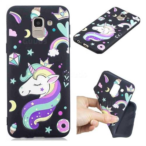 cover samsung galaxy j6 unicorno