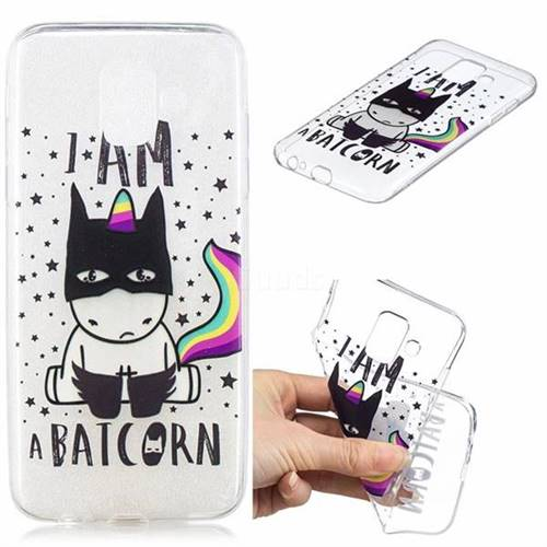 Batman Clear Varnish Soft Phone Back Cover for Samsung Galaxy J6 (2018) SM-J600F