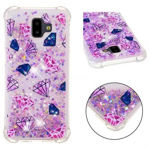 Diamond Dynamic Liquid Glitter Sand Quicksand Star TPU Case for Samsung Galaxy J6 Plus / J6 Prime