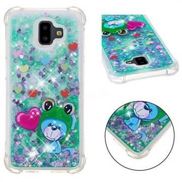 Heart Frog Lion Dynamic Liquid Glitter Sand Quicksand Star TPU Case for Samsung Galaxy J6 Plus / J6 Prime