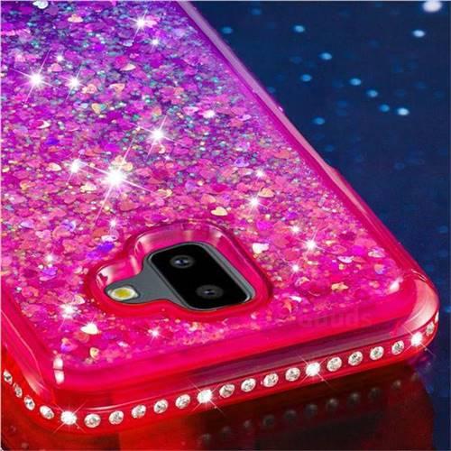 sumsung galaxy j6 glitter case