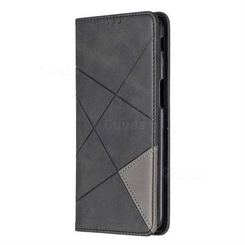 online retailer 2b0bc e863c Prismatic Slim Magnetic Sucking Stitching Wallet Flip Cover for Samsung  Galaxy J6 Plus / J6 Prime - Black